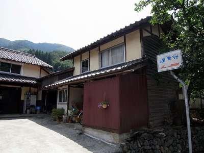 伝 栃尾氏館(養父市 蓮華寺)