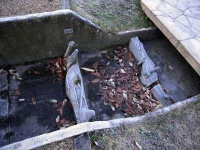 蛙ヶ鼻築堤跡 発掘調査跡