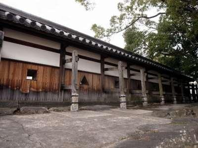 広島城 塀と狭間