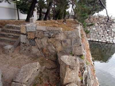 広島城 明治~戦前の修復箇所か?
