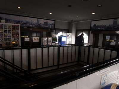 広島城 天守最上階内部