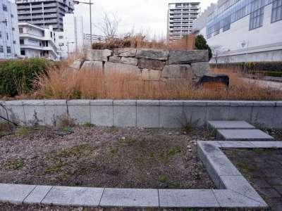 広島城 北の郭移築石垣