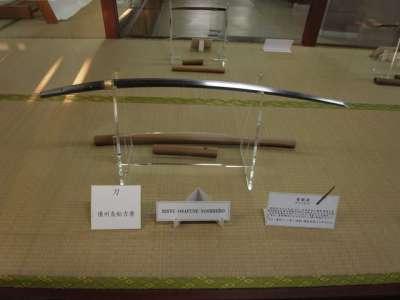岩国城 模造天守内部 展示品(日本刀)