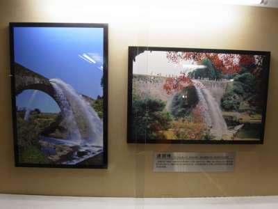 岩国城 模造天守内部 展示品(日本の名橋(写真))