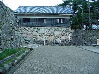 松江城 一の門