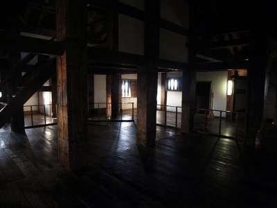 松江城 天守4階