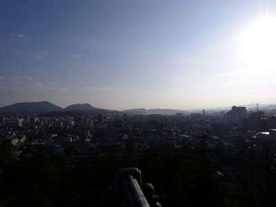 松江城 運がいいと大山が見えるらしいが、この日はあいにく