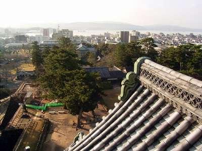 松江城 天守からの眺望