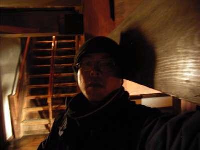 松江城 望楼型ゆえの、へんな位置の梁