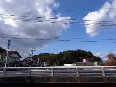 米子城 遠景