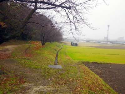 水城 堀跡