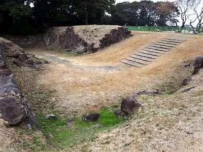 肥前名護屋城 二の丸 搦手口