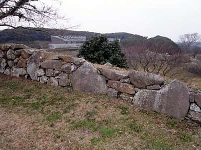 肥前名護屋城 東出丸石垣