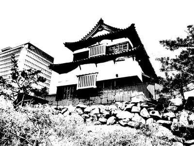 福岡城 伝潮見櫓