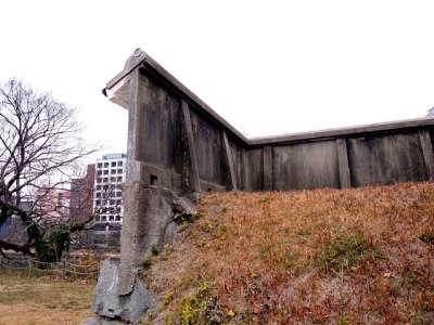福岡城 模造塀