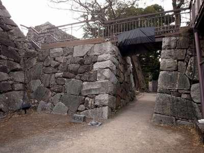 福岡城 埋門跡