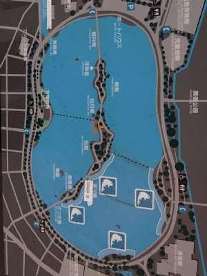 福岡城 大濠公園 案内図