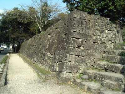 人吉城 石垣