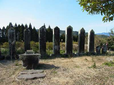 飫肥藩主 伊藤家の墓所