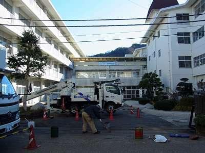 韮山中学校