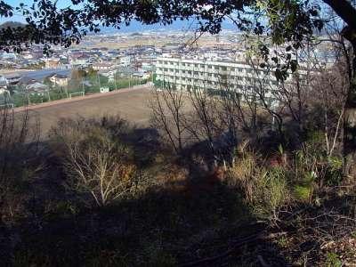 韮山高校(韮山城の御屋敷があった)