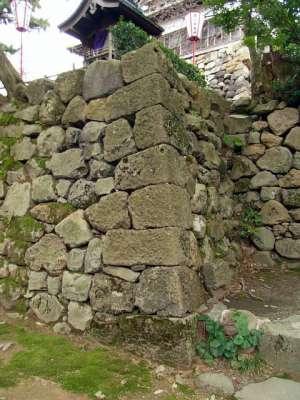 越前国 丸岡城 石垣