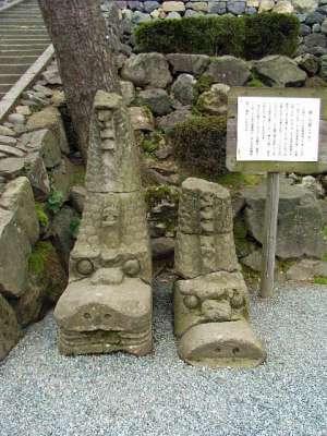 越前国 丸岡城 石鯱