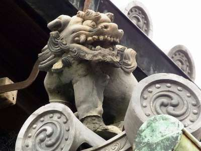 二条城 二の丸御殿 遠侍の鬼瓦