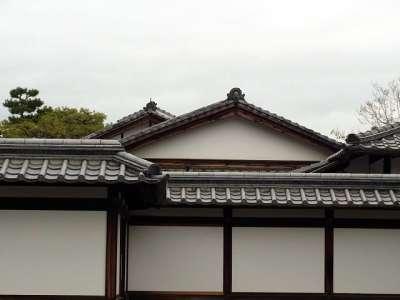 二条城 本丸 台所の屋根