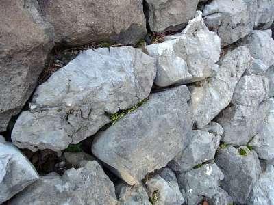 新しい石垣