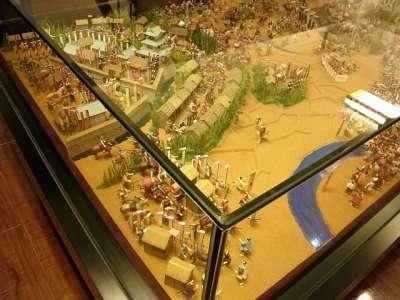 大垣城籠城戦ジオラマ