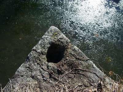 龍岡城 柱跡?