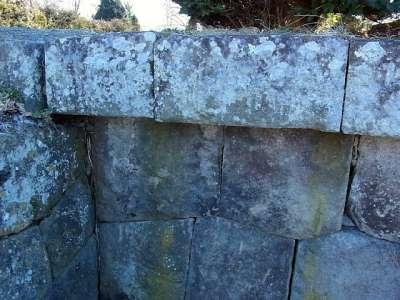龍岡城 石垣
