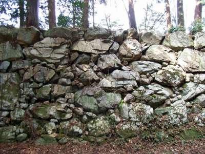 安土城 石垣