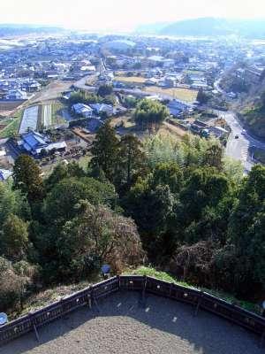 日向国綾城 (宮崎県綾町) 模擬天守からの眺望