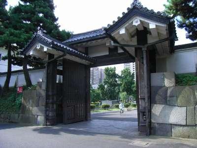 江戸城 外桜田門(枡形の内側から)