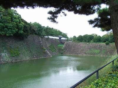 江戸城 堀と石垣