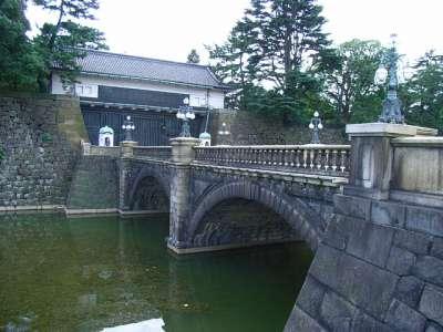 江戸城 正門鉄橋(通称 二重橋)