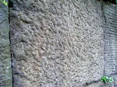 江戸城 石垣 はつり