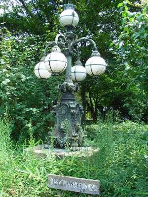 江戸城 皇居正門石橋旧飾電燈