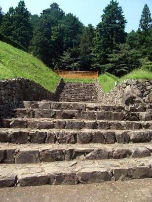 八王子城 ご主殿周辺の石垣