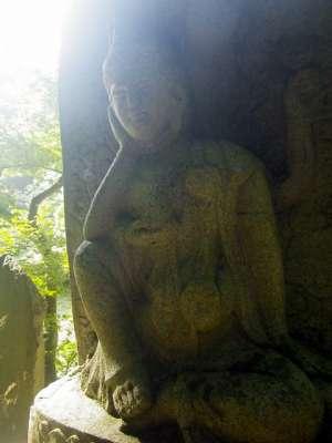八王子城 路傍の石仏