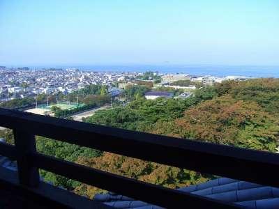 彦根城 天守からの眺望