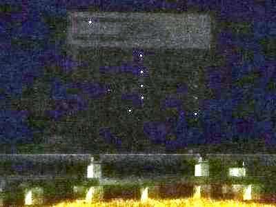 姫路城 深夜の天空の白鷺