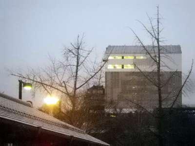 姫路城 朝の天空の白鷺