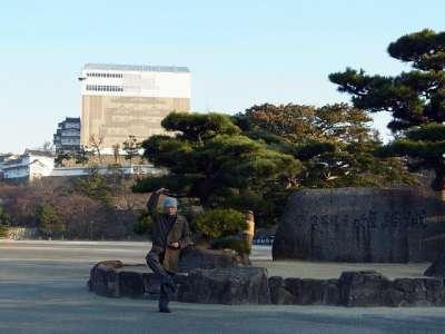 姫路城 三の丸にて