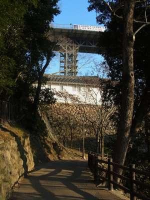 姫路城 天空の白鷺