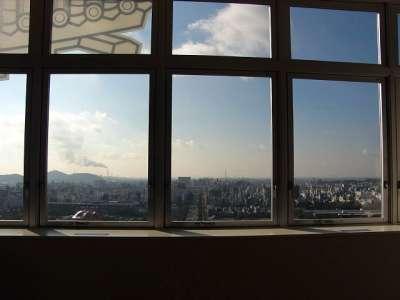 天空の白鷺からの景色