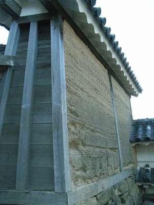 姫路城 油塀