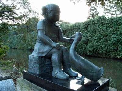 姫路城 街中彫刻